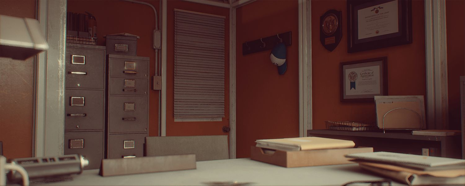 download Cubebrush 1971 Saigon Office | Retro Environment UE4