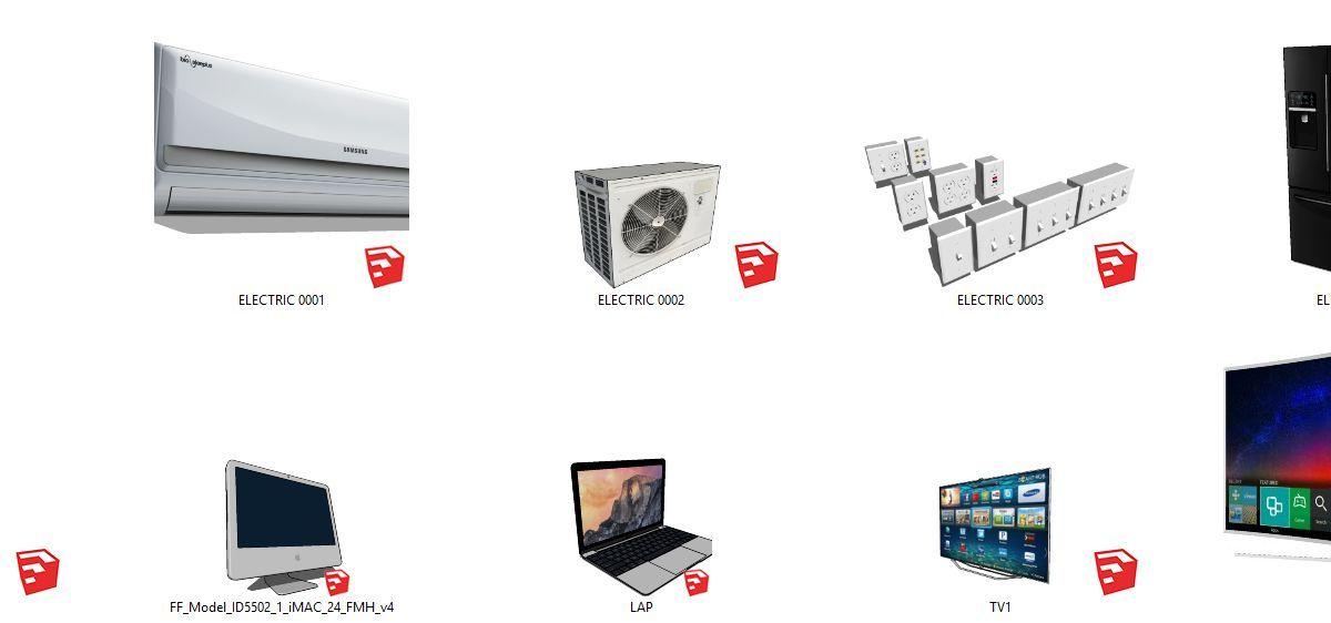 فایل های آماده اسکچاپ 10Gb Sketch Up Library Share by MINZSTUDIO