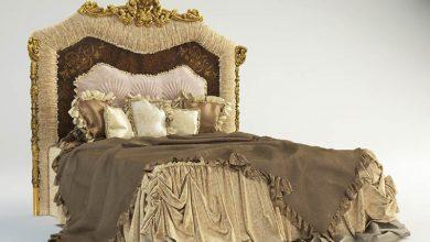 دانلود آبجکت تخت خواب سلطنتی AR ARREDAMENTI Celebrity 3D Models Bundle