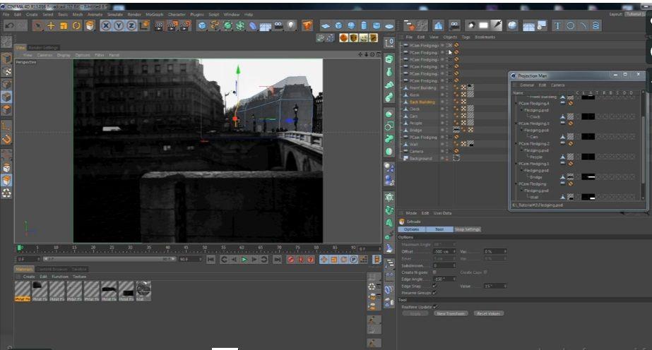 آموزش کمرا مپینگ سینما فوردی کامپوزیت افترافکت Cinema-4d After Effects
