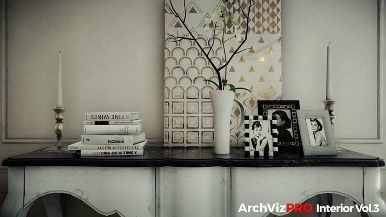 دانلود آبجکت معماری یونیتی ArchVizPRO Interior Vol.3