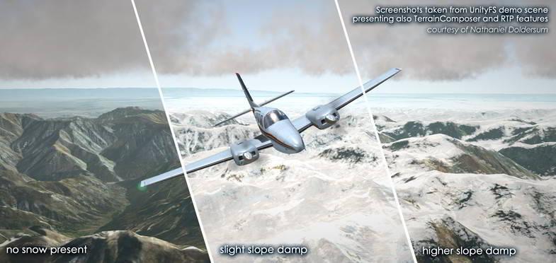 متریال برای بازی سازی Relief Terrain Pack v3.3e