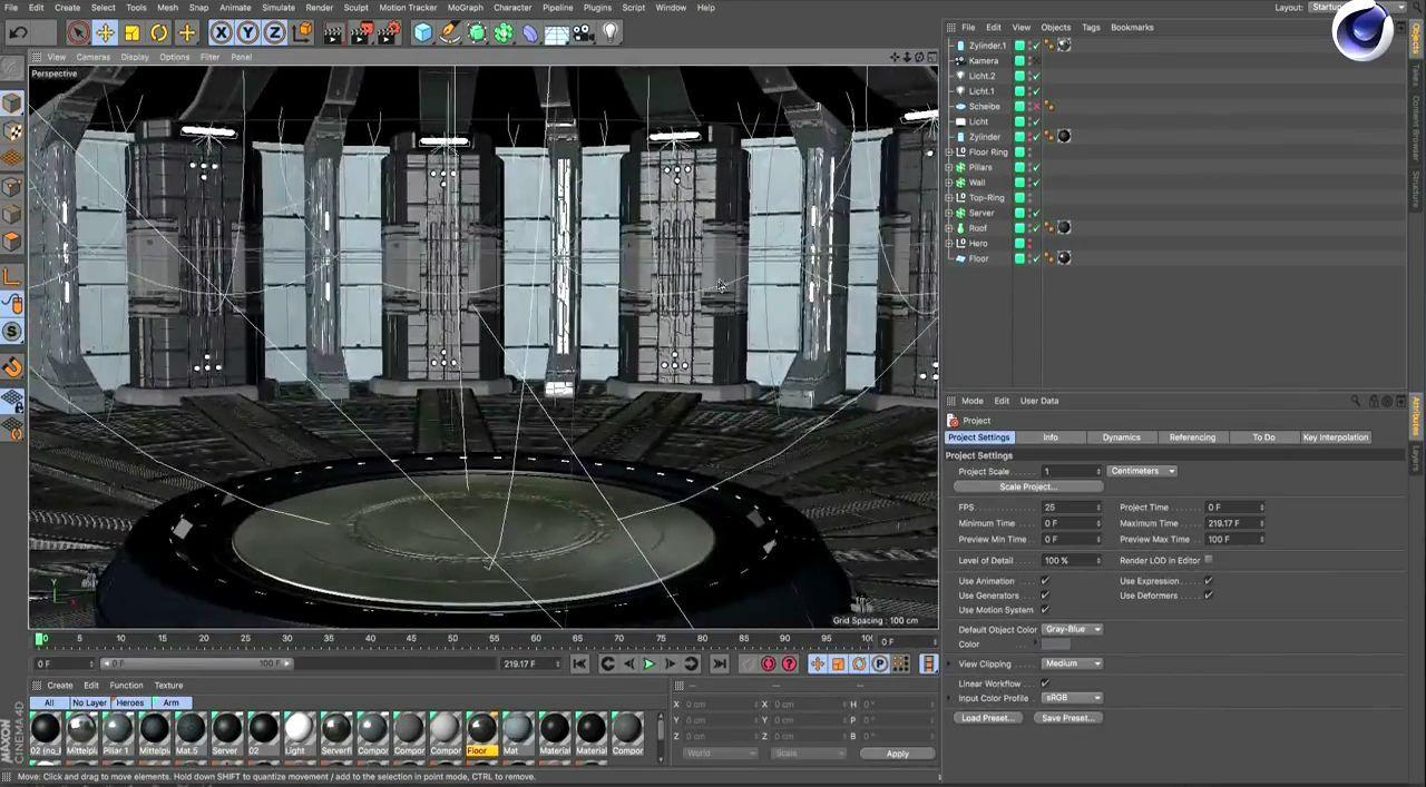 آموزش ساخت موشن گرافیک سه بعدی سینمافوردی افترافکت