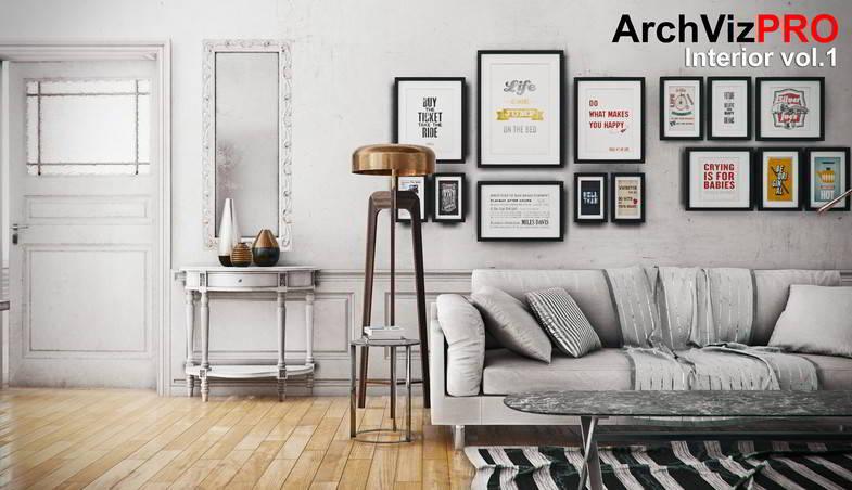 ArchVizPRO Interior Vol.1 - Asset Store