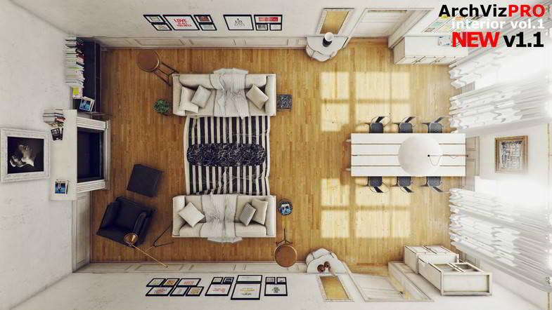 دانلود ArchVizPRO Interior Vol.1 - Asset Store