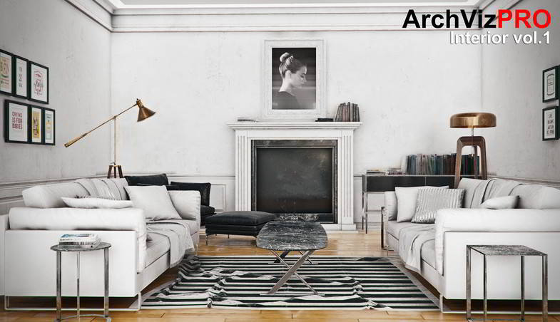 دانلود رایگان پکیج آماده رندر داخلی یونیتی ArchVizPRO Interior Vol.1 - Asset Store