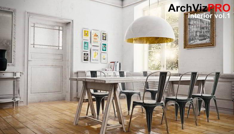 دانلود مدل آماده یونیتی ArchVizPRO Interior Asset Store