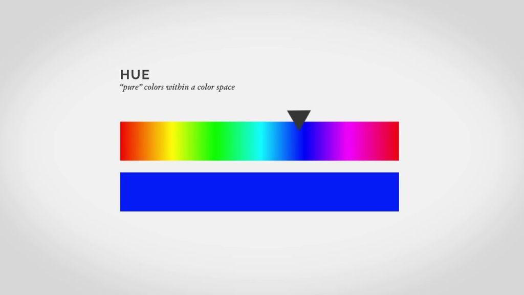 آموزش تئوری رنگ فتوشاپ hue