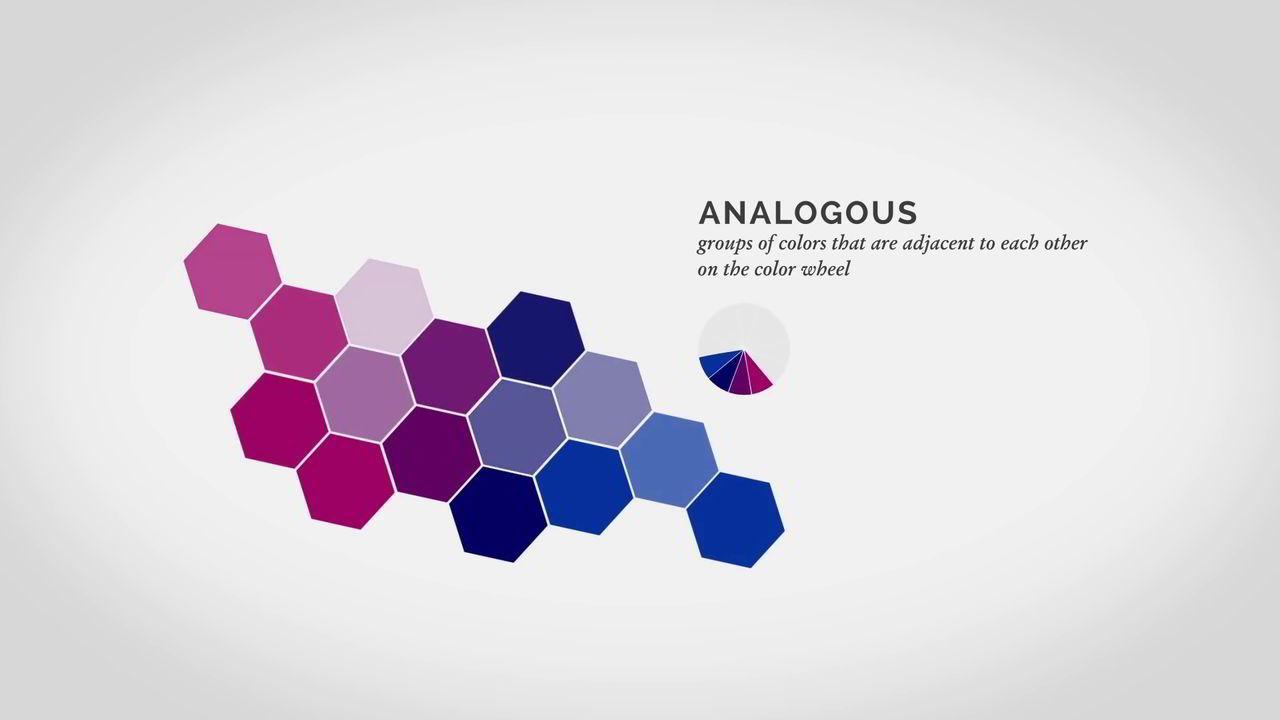 آموزش تئوری رنگ فتوشاپ analogous