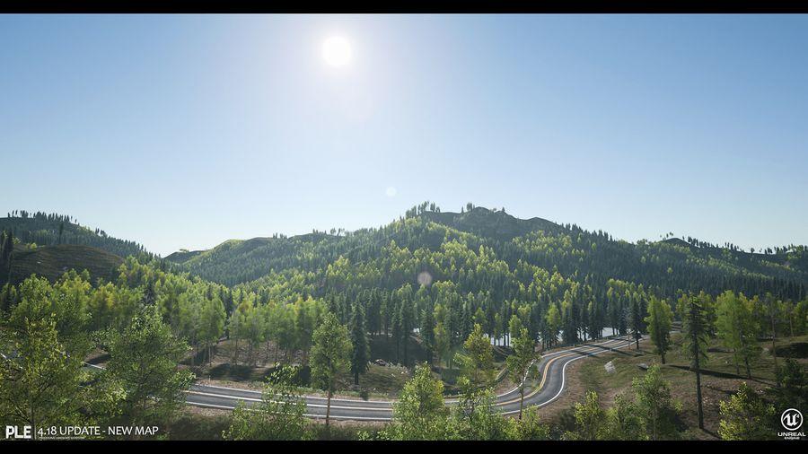 Unreal Marketplace - Procedural Landscape Ecosystem