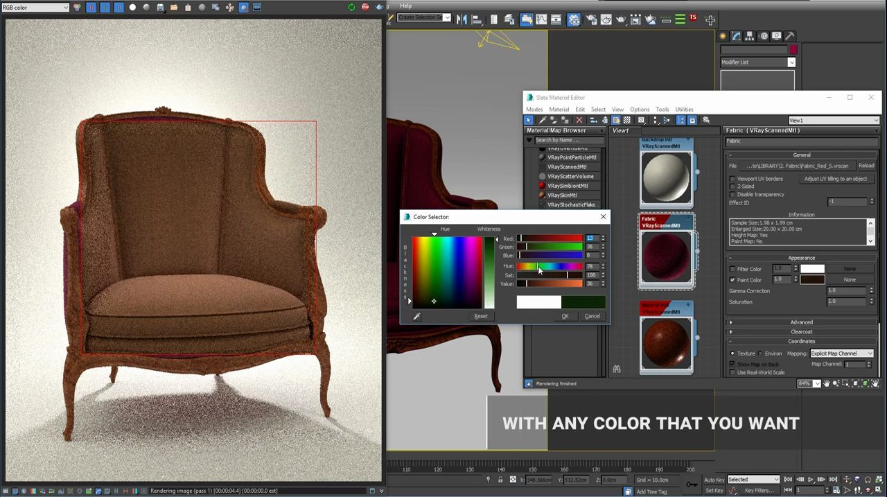 آموزش کار استفاده از پکیج متریال ویری VRscans materials