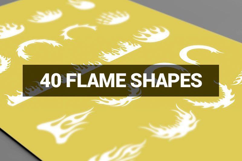 دانلود قالب های آماده فتوشاپ Creativemarket Megabundle 1160 Decorative Shapes