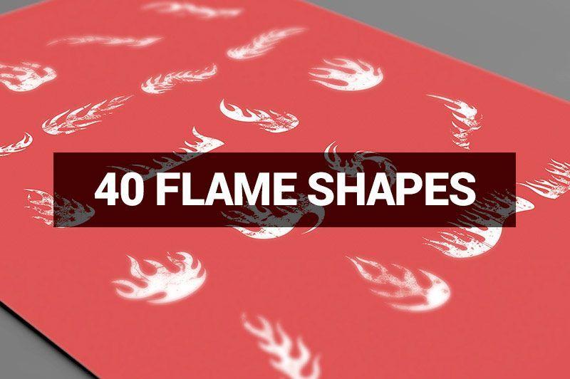 طرح فتوشاپ لایه باز Creativemarket Megabundle 1160 Decorative Shapes