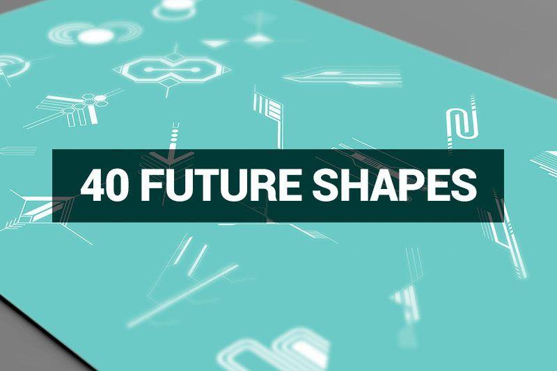 مجموعه طرح های گرافیکی لایه باز Megabundle 1160 Decorative Shapes
