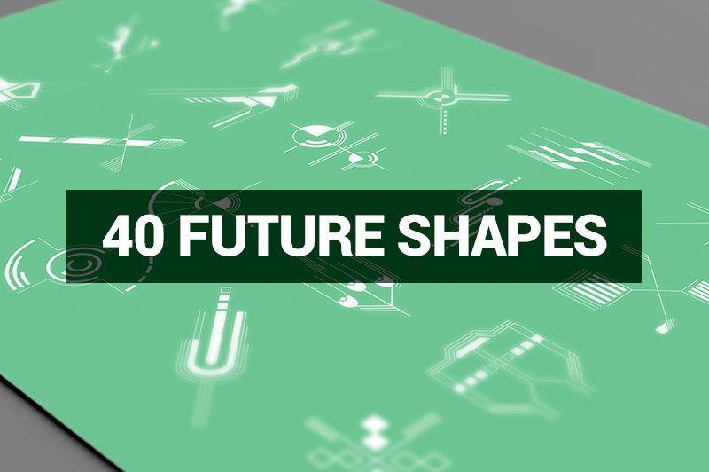 مجموعه طرح های گرافیکی لایه باز Creativemarket Megabundle 1160 Decorative Shapes