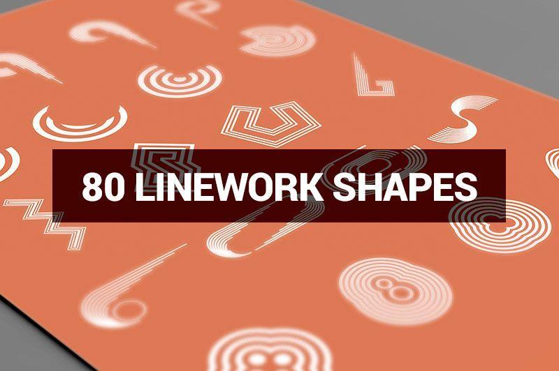 دانلود رایگان مجموعه طرح های گرافیکی لایه باز Megabundle 1160 Decorative Shapes