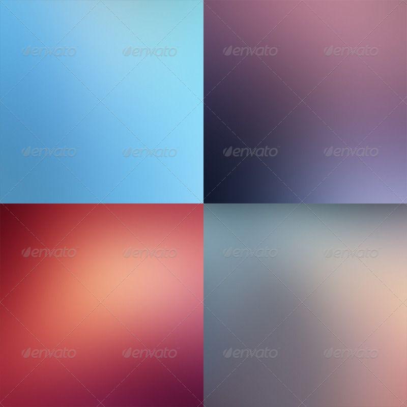 دانلود graphicriver 12 Blurred Backgrounds V.01