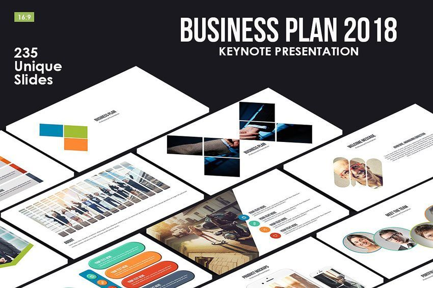 دانلود رایگان قالب پاورپوینت کینوت 2018 Fresh Bundle Presentations PPTX & Keynote