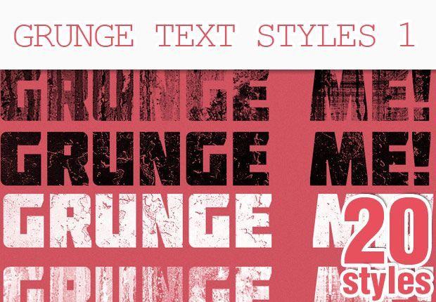 مجموعه 209 نوع افکت متن و استایل فتوشاپPremium Photoshop Text Styles
