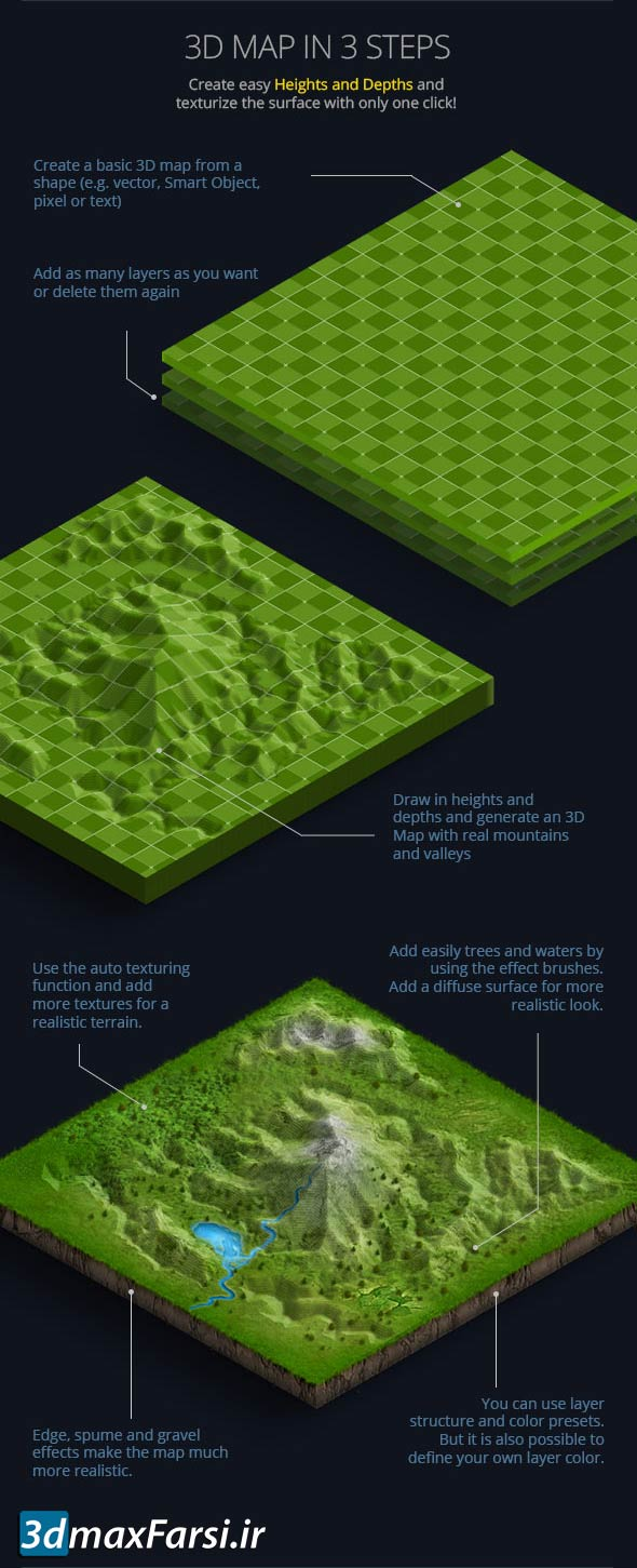 3d map generator terrain دانلود