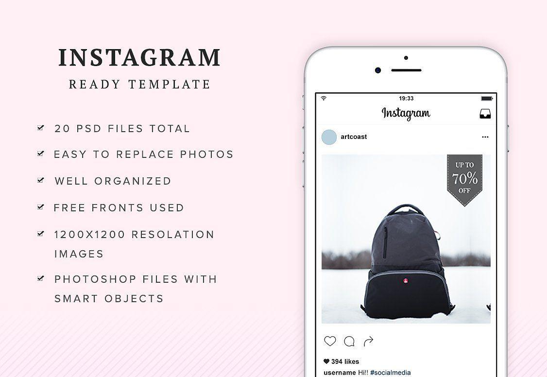 قالب برای اينستاگرام Animated Modern Instagram Posts v1