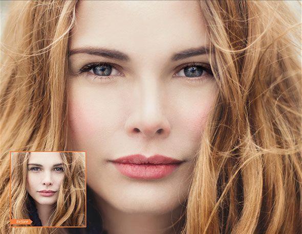مجموعه اکشن فتوشاپ جعبه آرایش و زیبایی صورت creativemarket : Beauty Box Collection