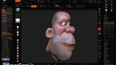 آموزش مدلسازی صورت انسان با نرم افزار زیبراش ZBrush