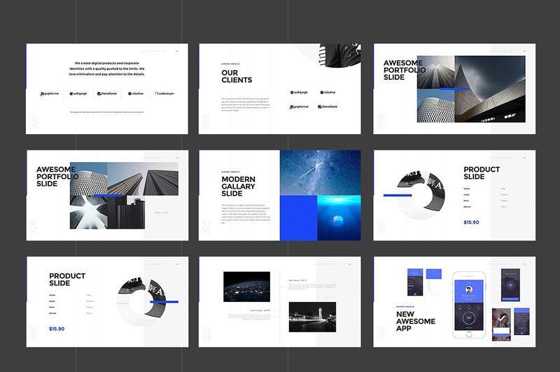 دانلود قالب پاورپوینت 2016 SUPRIMO PowerPoint Template Bonus
