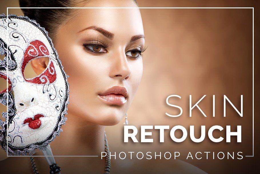 دانلود رایگاناکشن روتوشصورت Skin Retouch Photoshop Actions