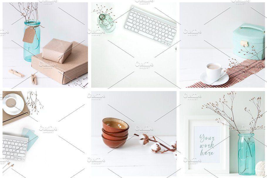دانلود عکس اینستاگرام creativemarket Winter Instagram Set