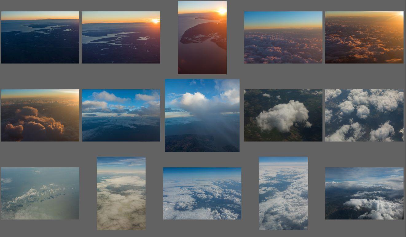 دانلود عکس آسمان ابری با کیفیت بالا تصویر ابر پانوراما Aerial Clouds vol.7