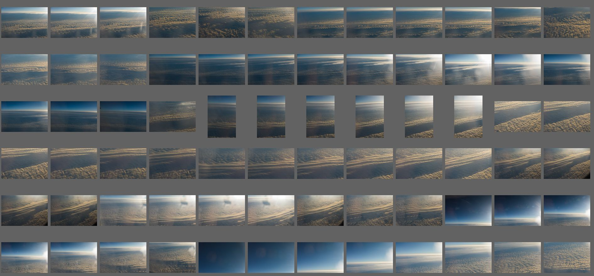 دانلود بک گراند آسمانابری پانوراما Aerial Clouds vol.7