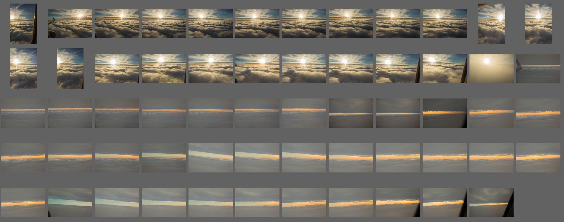 Aerial Clouds vol.7 بک گراند آسمان برای فتوشاپ پست پروداکشن