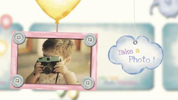 پروژه آمادهافترافکت کودکvideohive : Baby Kids Photo Slideshow