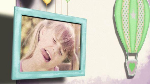 کلیپ افترافکت کودک videohive : Baby Kids Photo Slideshow