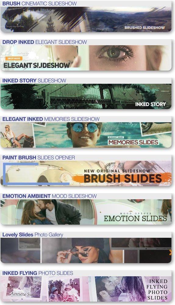 VideoHive Brushed Petals Slideshow by TranSMaxX پروژه اسلاید شو افترافکت عاشقانه