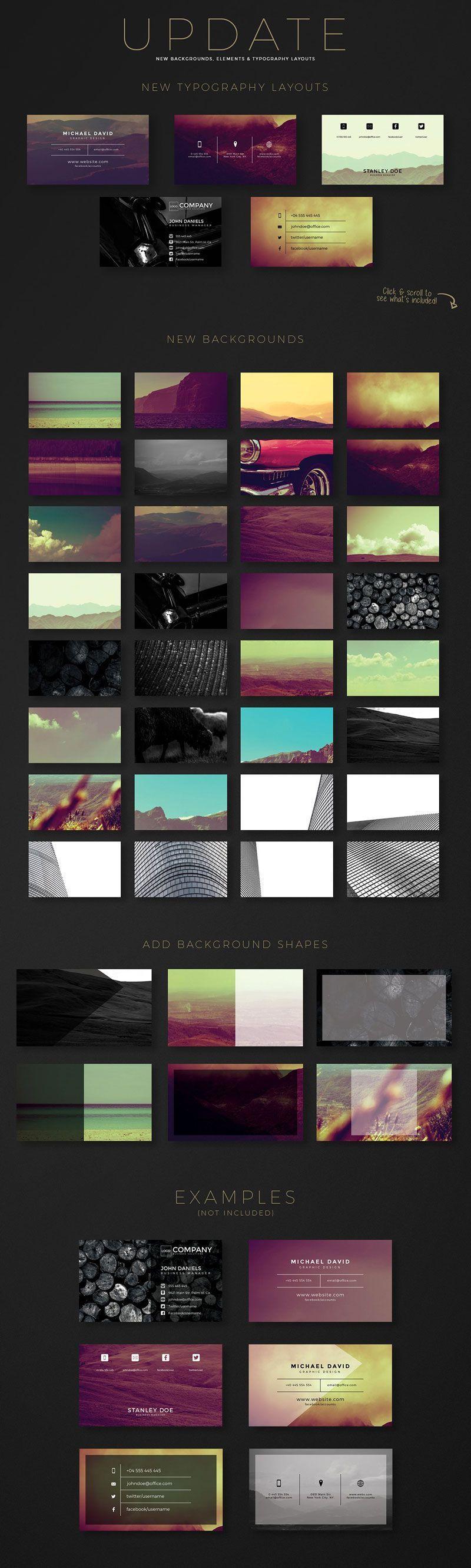 نمونه کارت ویزیت لایه باز رایگان creativem Business Card Creation Kit