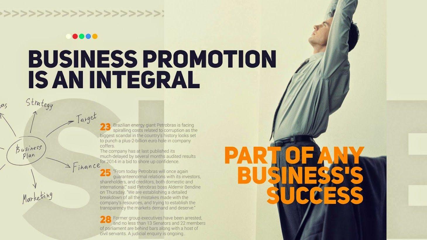 Business Promotion پرومو تیزر تبلیغاتی کسب و کار
