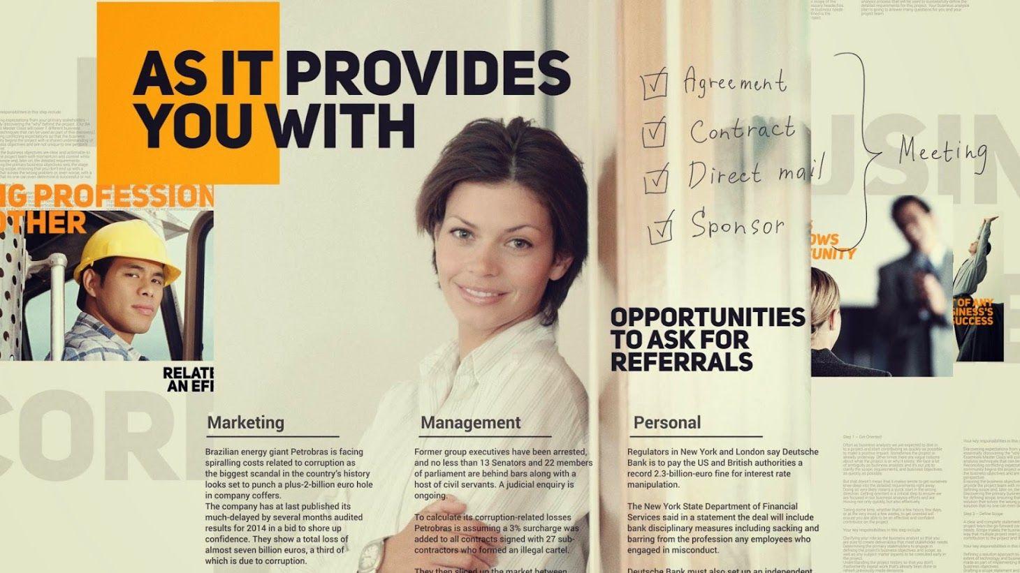دانلود رایگان Business Promotion پرومو تیزر تبلیغاتی کسب و کار