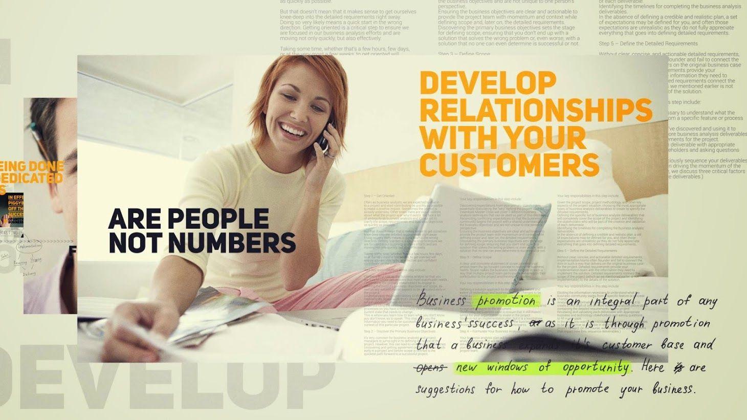 videohive پرومو تیزر تبلیغاتی کسب و کار