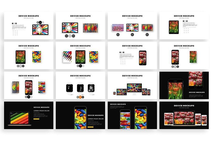 دانلود choco PowerPoint Template creativemarket