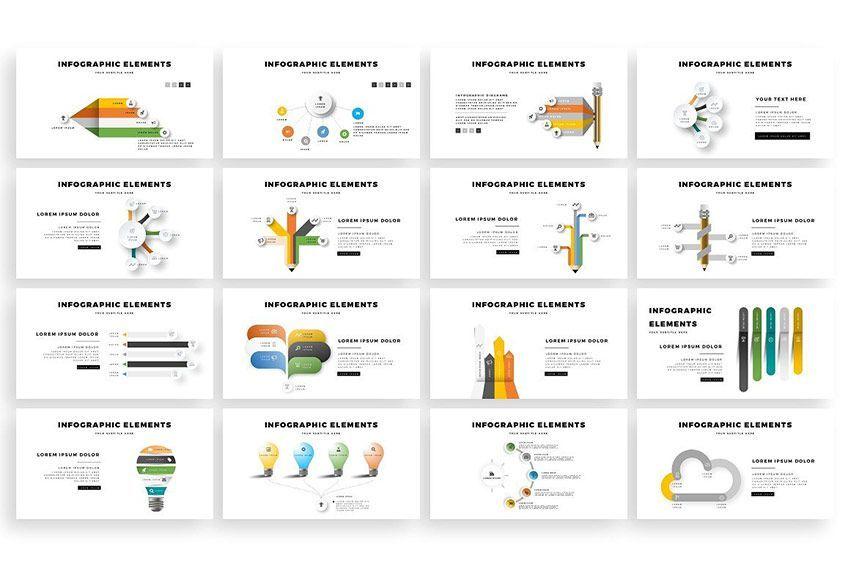 دانلود قالب آشپزی choco PowerPoint Template creativemarket