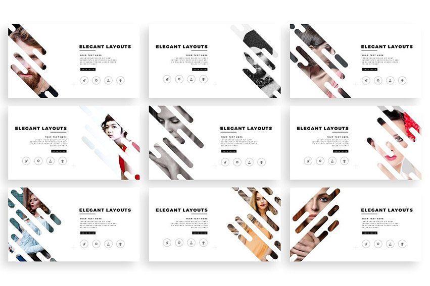 choco PowerPoint Template دانلود مجموعه قالب های آماده و حرفه ای پاورپوینت از گرافیک ریور