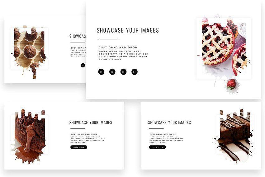 choco PowerPoint Template creativemarket