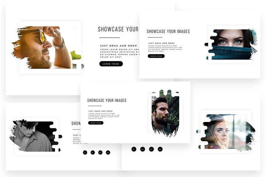 download choco PowerPoint Template creativemarket
