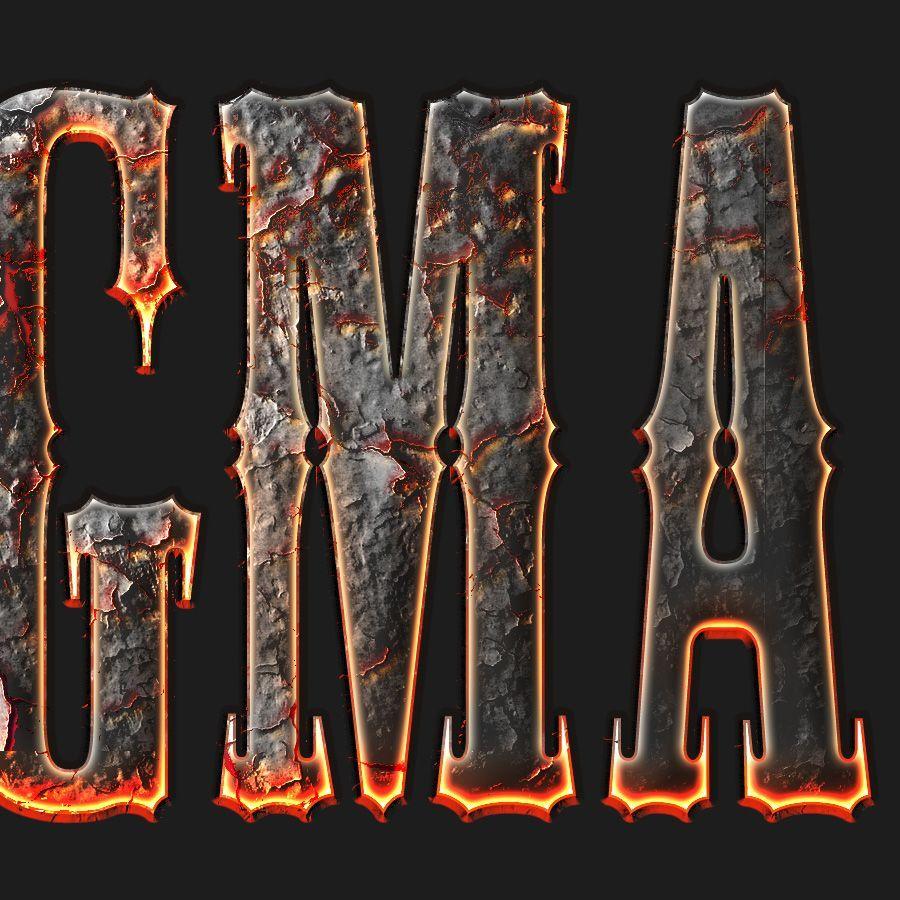 دانلود استایل افکت آتشین از گرافیک ریور - GraphicRiver Fire Styles