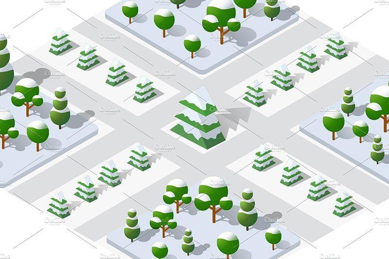 دانلود وکتور ساختمان سازی city bundle module creator