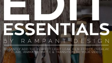 Photo of دانلود پکیج ابزار های حرفه ای تدوین ویدیویی Rampant Edit Essentials