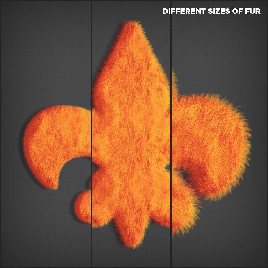 دانلود رايگان اکشن فتوشاپ Fur Generator
