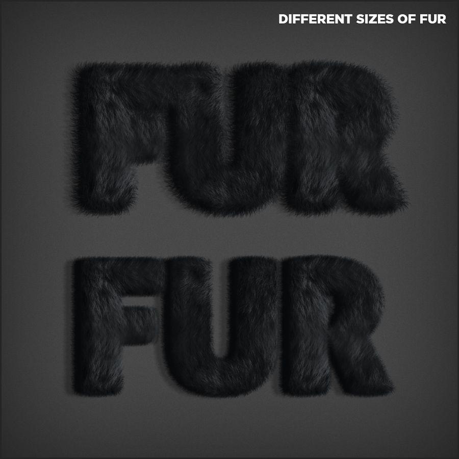 دانلود رايگان اکشن فتوشاپ ساخت افکت پوشش خزدار Fur Generator